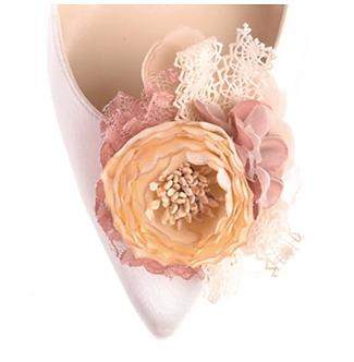 第二代古典浪漫玫瑰花飾・IA160913(Pink)