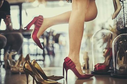 POPI時尚紅尖頭高跟鞋・GS130511