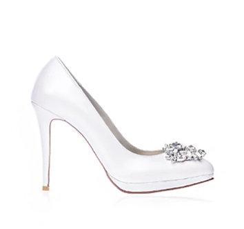 Vivian高貴宴會鞋・RS180517(Ivory)
