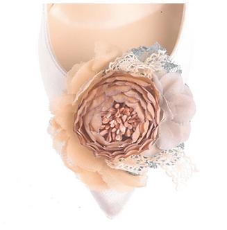 第二代古典浪漫玫瑰花飾・IA160913(Beige)