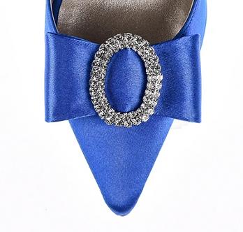 經典優雅棉緞蝴蝶結(寶石藍)・IA121102(Blue)