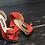 Thumbnail: 立體綢緞蝴蝶結・IA121021(Red)