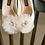 Thumbnail: 可愛雪紡花飾・IA170107 (Ivory)