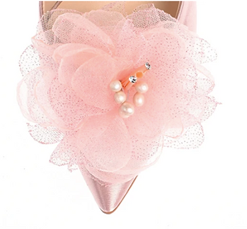 春韶光珍珠蕊芯花飾(櫻花粉)・IA160121(Pink)