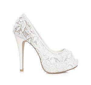 Elly梵高蕾絲婚鞋・GS130721