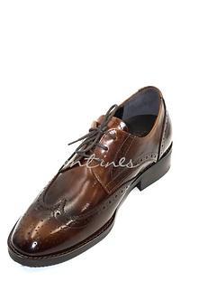 Walentines 韓國手工經典深棕色紳士皮鞋・ C 12_007