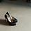 Thumbnail: POPI 3rd時尚圓頭黑鑽高跟鞋・GS160816(Black)