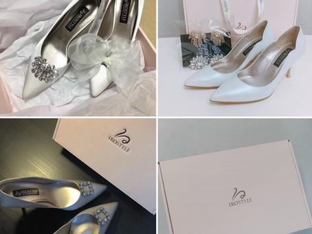 【新年快樂💝Iro Style韓國婚鞋與白紗的搭配】