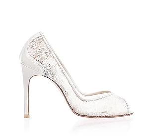 Aster浪漫蕾絲鞋・RS170117(Ivory)