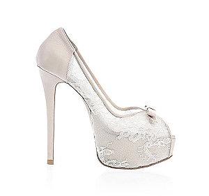 Nicole可愛蕾絲婚鞋・RS150128(Pink)