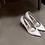 Thumbnail: POPI 2nd珍珠白皮革婚鞋・GS131203