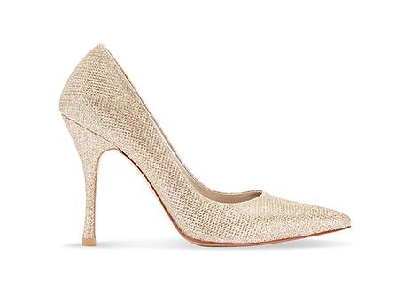 閃耀金派對尖頭高跟鞋・GS161104(Gold)