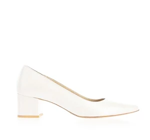 POPI時尚粗跟鞋款・GS180306(Ivory)