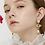 Thumbnail: Honeybee Pearl Drop Earring・TP09402