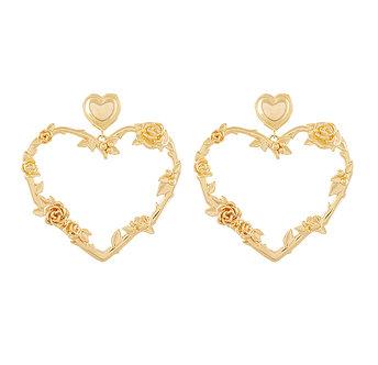 Forest heart earring耳環・NJHFER31