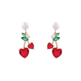 Cherry Pearl Earring・TP07402
