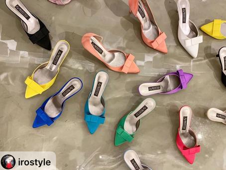 【🔥Iro Style婚鞋新品上市 -Shallot 緞面高級穆勒跟鞋・RS190715】