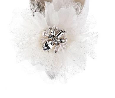 立體浪漫花飾・IA170114 (Beige)