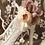 Thumbnail: 古典浪漫玫瑰花飾・IA140225(Pink & Beige)