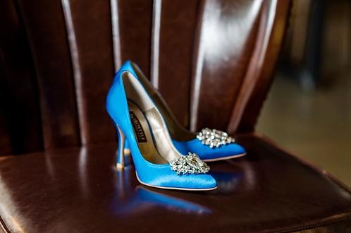 Jolie施華洛世奇奢華宴會鞋・RS180518(Blue)