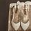 Thumbnail: 性感鑲鑽垂鍊繞踝帶・IA150412(Gold & Silver)
