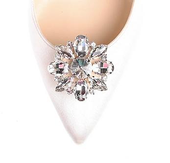 閃耀雛菊鑽飾・IA170331(Silver)