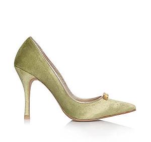 Vanessa高跟婚鞋・RS151205(Olive)