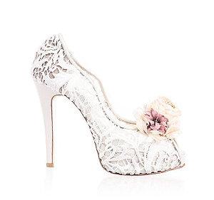 Alicia魅力蕾絲鞋・RS160513(Ivory)