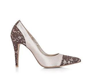 Gwyneth蕾絲時尚婚鞋・RS150416(Beige)