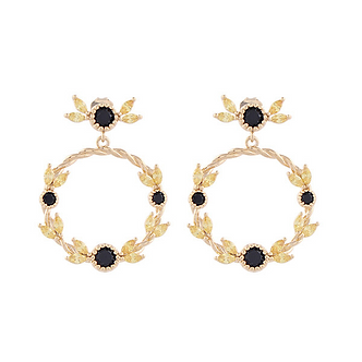 Flower Crown Earring・AC03401