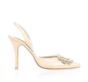 Margot霧銀時尚派對鞋・RS160314(Salmon)