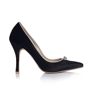 Vanessa高跟婚鞋・RS151205(Black)