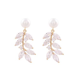 HELICONIA PEARL EARRING