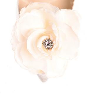 盛夏玫瑰蕊鑽花飾・IA170119(Ivory)