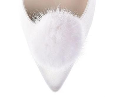暖暖絨毛球飾・IA141015(Ivory)