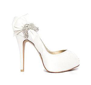 Julia典雅派對鞋・RS140111(Ivory)