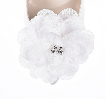 優雅蕊鑽蕾絲花飾・IA160802(Ivory)
