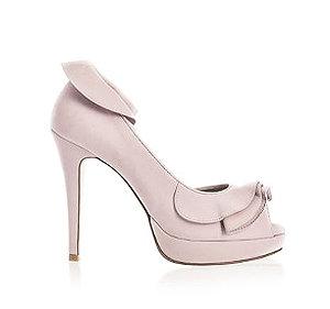 Rebecca魚口高跟婚鞋・RS171007(Pink)