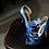 Thumbnail: 立體綢緞蝴蝶結・IA121021(Blue)