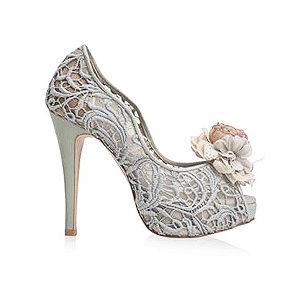 Alicia魅力蕾絲鞋・RS160513(Gray)