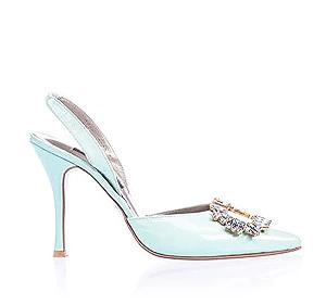 Margot霧銀時尚派對鞋・RS160314(Mint)