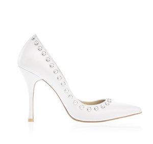 Linda高跟婚鞋・RS171216(Ivory)