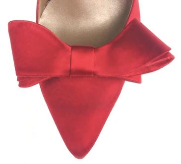 立體綢緞蝴蝶結・IA121021(Red)