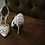 Thumbnail: Rosie 鏤空薔薇皮革宴會鞋・RS160426(White)