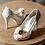 Thumbnail: Celine春色花語蕾絲鞋・RS160401(Ivory)