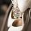 Thumbnail: 奢華珍珠鑽飾繞踝帶・IA150413(Silver)