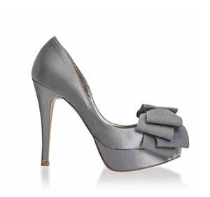 春色馬卡龍粉嫩宴會鞋・RS160429(Gray)