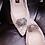 Thumbnail: 三維立體水鑽垂墜鞋飾・IA181101 (Gold & Silver)