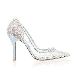 Ellen高跟婚鞋・RS170314(Mint)
