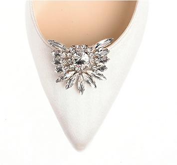 俏皮圓鑽飾品(銀色)・IA151116(Silver)